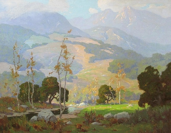 Elmer Wachtel, Winter in Topanga