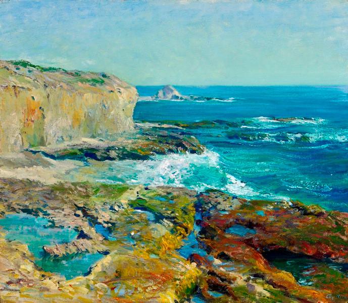 Guy Rose, Laguna Rocks