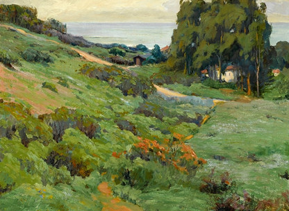 JAF Painting on View at Laguna Art Museum