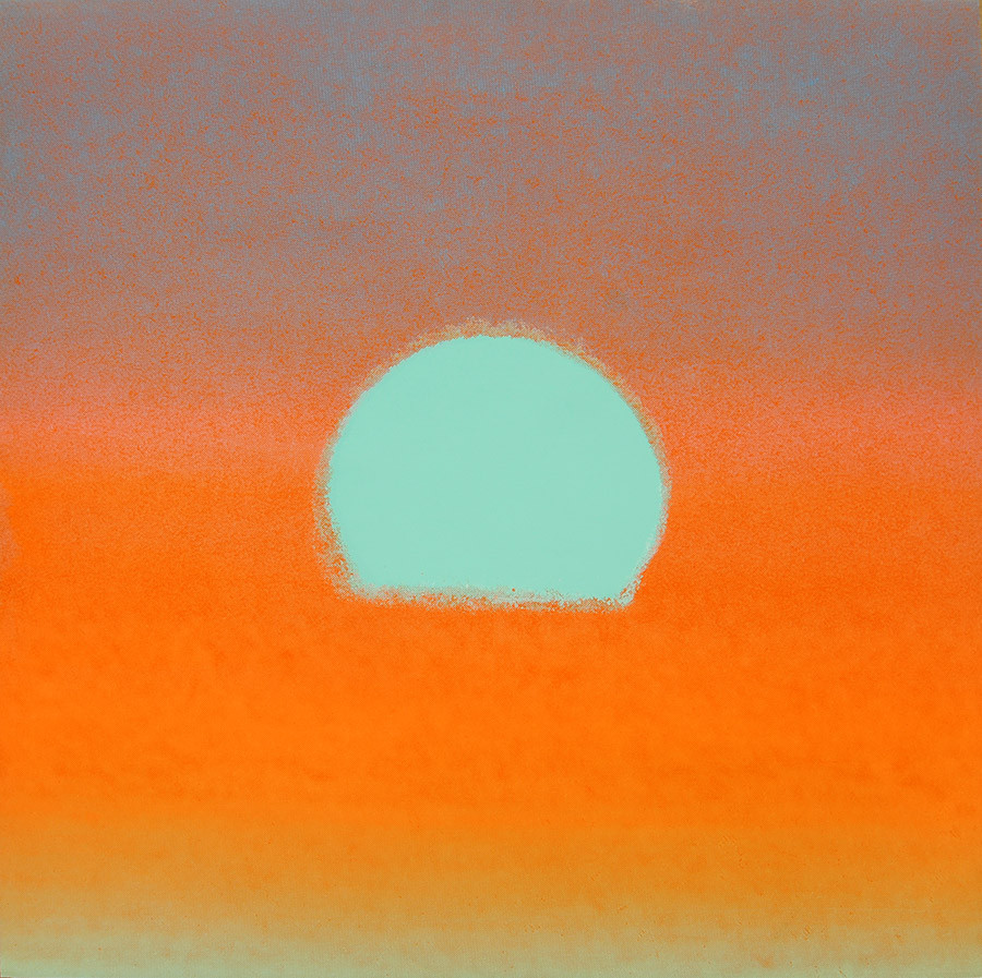 "Andy Warhol, ""Sunset"""