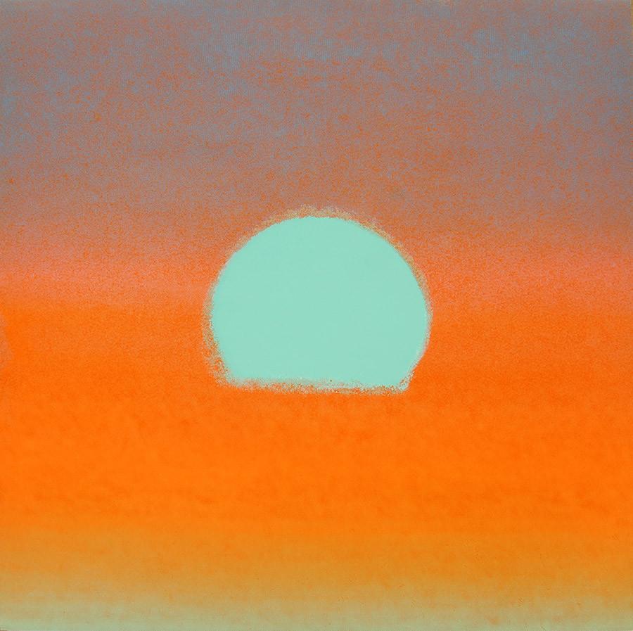"""Andy Warhol, """"Sunset"""""""