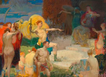 Theodore Lukits (1897-1992): Jonathan Club Artist Life Member