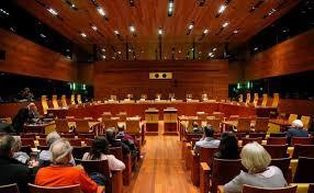 Sala del tribunal