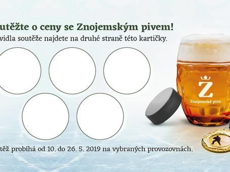 Soutěž o ceny se Znojemským pivem