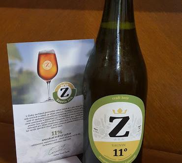 Sauvin 11% - pivo s přívlastkem