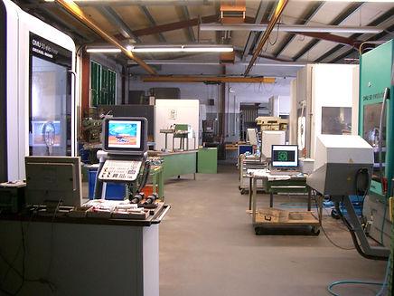 Vernetzter CNC Fertigungsbereich