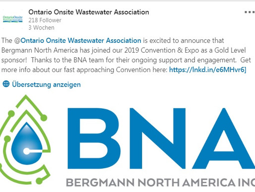 BNA becomes Gold Level Sponsor for the 2019 OOWA Convention and Expo!