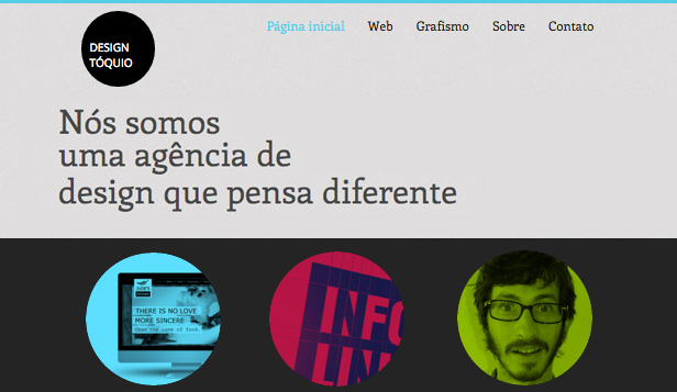 Design website templates – Agência de Design