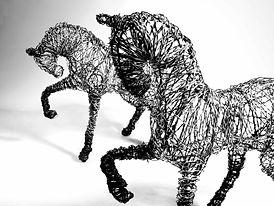Skulptur av Susanne Arnfridsson - Art & Steel