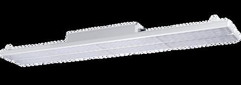 Lagerbelysning med rektangulär ljusspridning