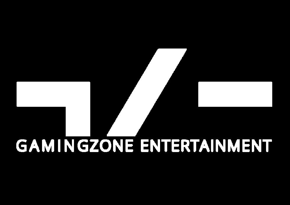 Gamingzone Entertainment - White logo