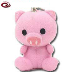 Söt rosa gris