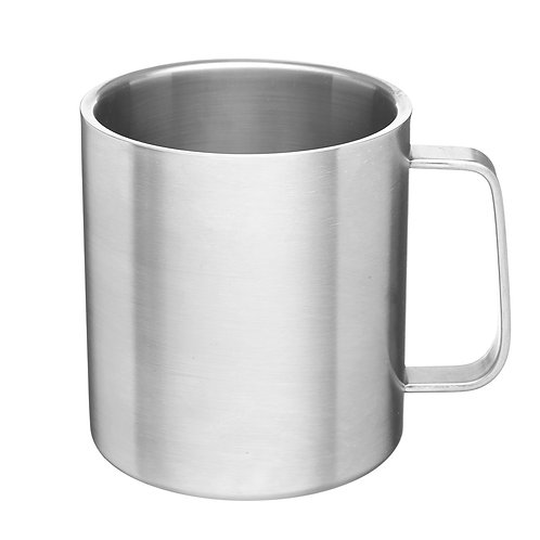 100% Stainless Steel Mug