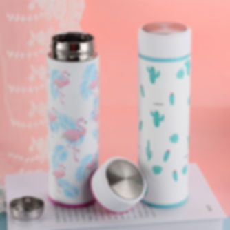 Cute-Flamingos-Vacuum-Flasks-Cups-Cactus