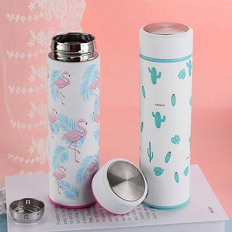 Cute-Flamingos-Vacuum-Flasks-Cups-Cactus