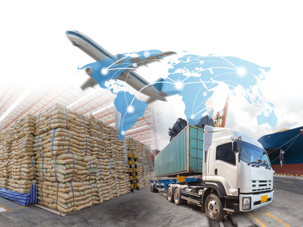 Management logistics of Industrial Container Cargo for Import Export business.
