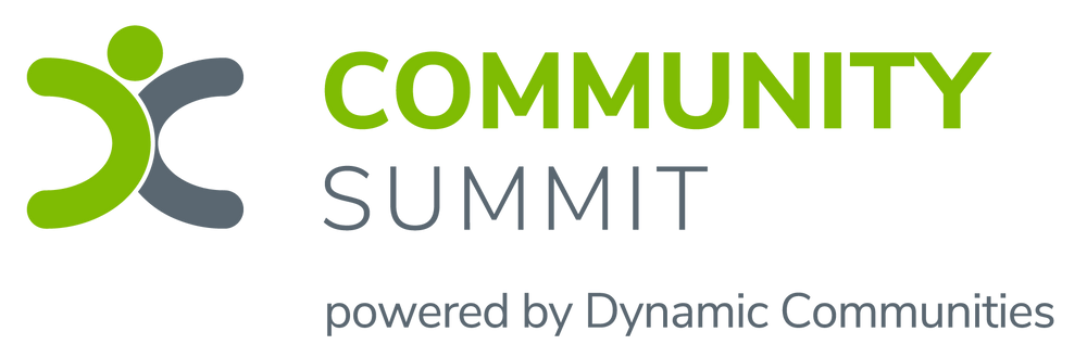 Community Summit Event Logo (Dynamic Communities)