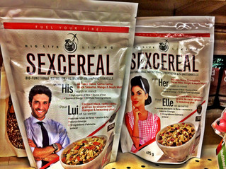 Sex Cereal At A Grocery Store Near You (The Incan SuperFood Secret Ingredient)
