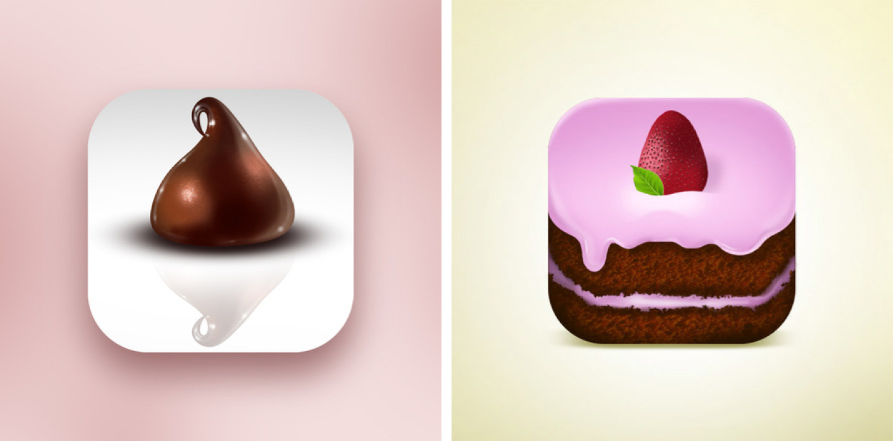 Cake Bake Icons