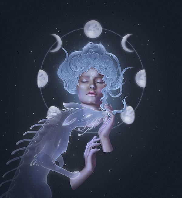 Lunar Mood by Samantha Broccoli