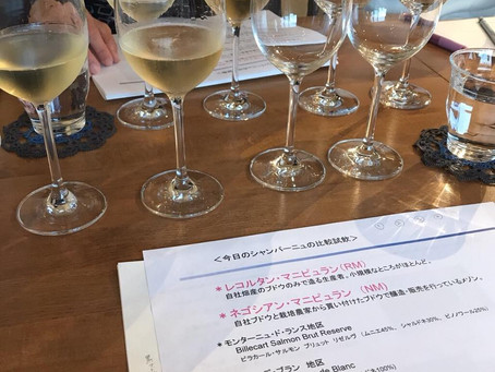 イルドコリンヌワイン教室 レポート♪〜シャンパン編〜