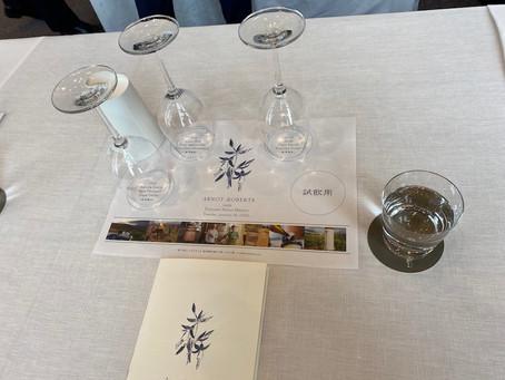 Arnot-Robertsのワインセミナーに参加せていただきました!