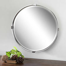 30 W X 30 H X 2 D (in) Decorative Mirror - Only available in this size.