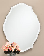 23-1/2″w x 30-1/2″h Decorative Mirror - Only available in this size.