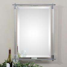26 W X 34 H X 2 D (in) Decorative Mirror - Only available in this size.