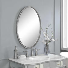 22 W X 32 H X 2 D (in) Decorative Mirror - Only available in this size.