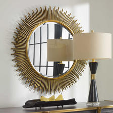 36 W X 36 H X 1 D (in) Decorative Mirror - Only available in this size.