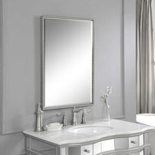 21 W X 31 H X 2 D (in) Decorative Mirror - Only available in this size.