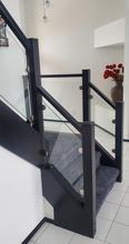 Glass railing inserts