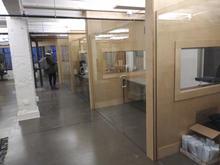Office walls and doors