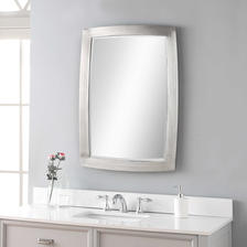 24 W X 34 H X 1 D (in) Decorative Mirror - Only available in this size.