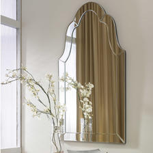 21 W X 44 H X 1 D (in) Decorative Mirror - Only available in this size.