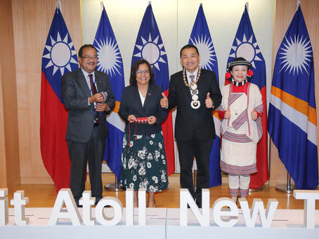 New Taipei City Enters Sister City Relationship with Jaluit Atoll