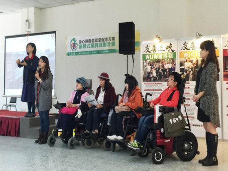 Participatory Budgeting for Disabled Persons Employment Promotion