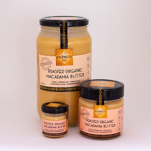 Roasted Organic Macadamia Butter