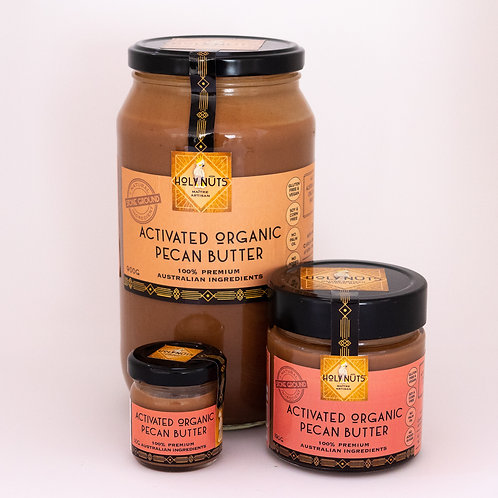 Activated Organic Pecan Butter