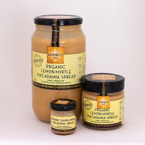 Organic Lemon Myrtle Macadamia Spread