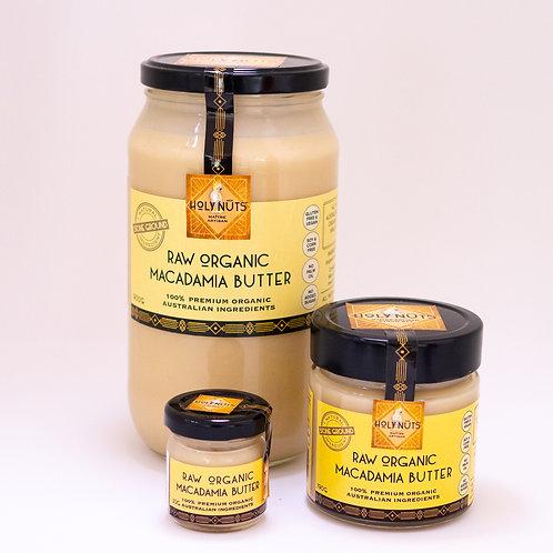 Raw Organic Macadamia Butter