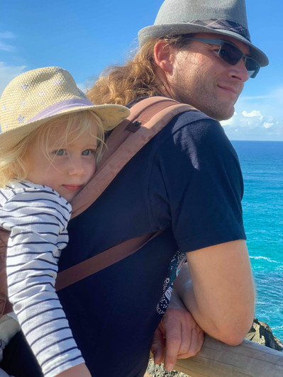 Hugo and Bertrand- walk to the lighthouse