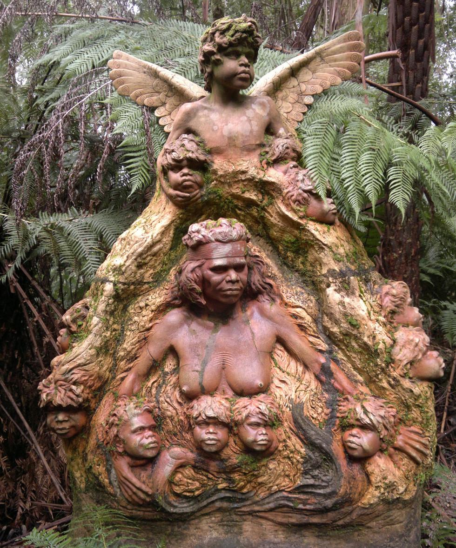 William Ricketts Sanctuary, Mount Dandenong, Victoria.