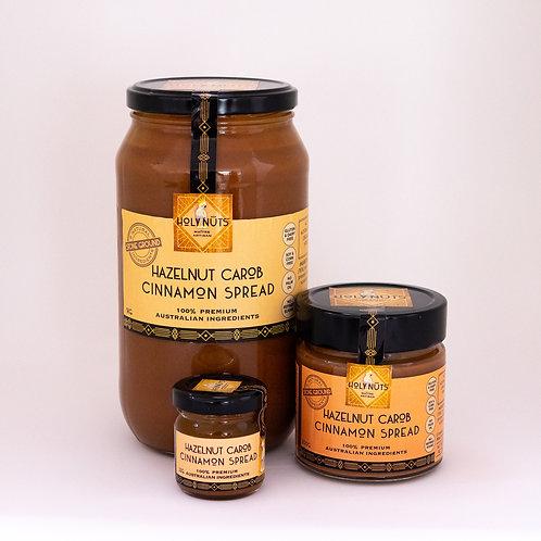 Hazelnut Carob Cinnamon Spread