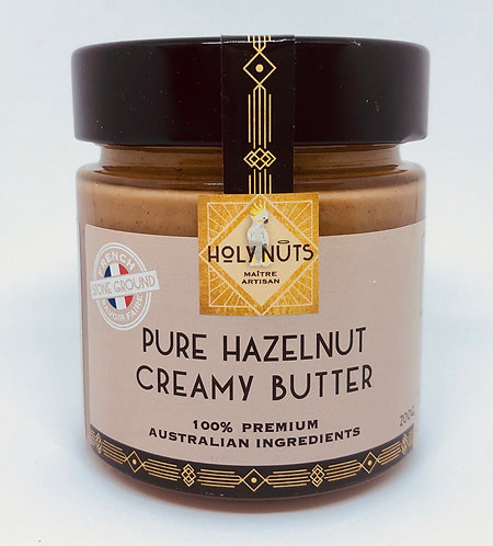 Pure Hazelnut Creamy Butter