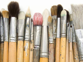 TRY IT: Paint Brushes, Getting to Know an Essential Art Tool
