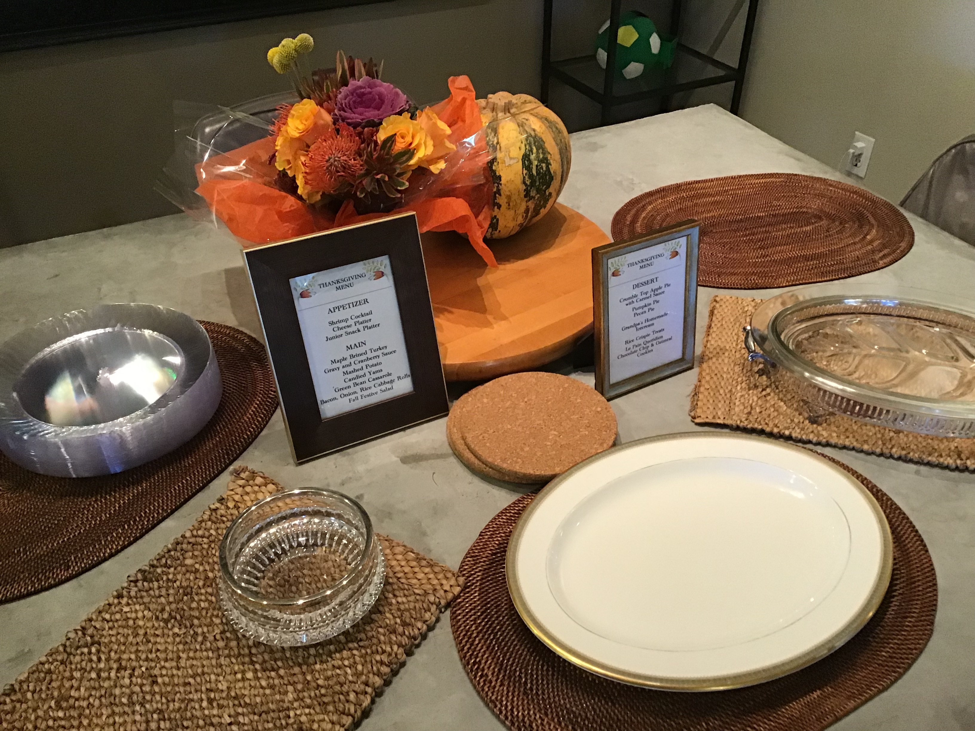 Rustic Thanksgiving