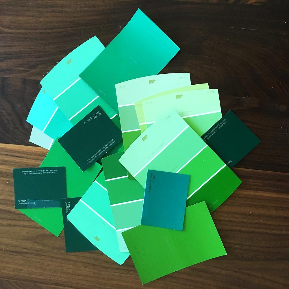 Make Studio_Paint Swatch_Green