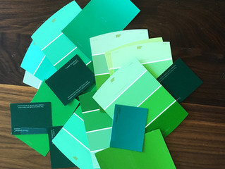 CRAFT IT | St. Patrick's Paint Chip Project